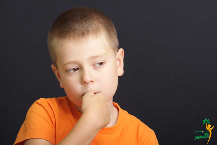 روش درمانی ناخن جویدن کودکان