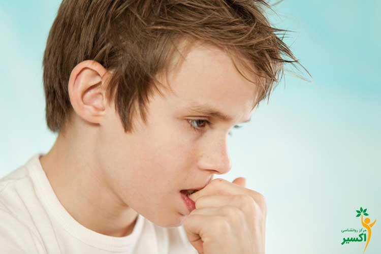 درمان ناخن جویدن