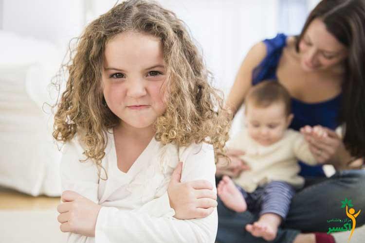 درمان حسادت کودکان