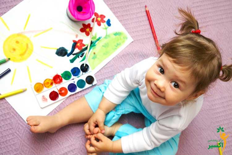 اهمیت نقاشی کودکان