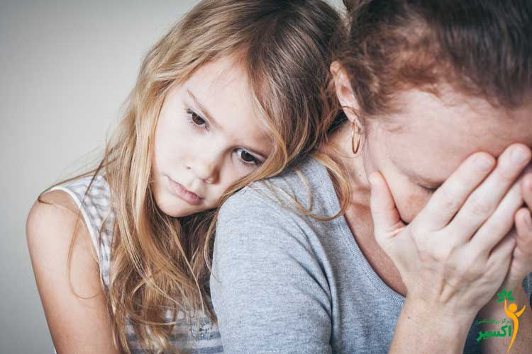 کاهش تاثیر والدین معتاد