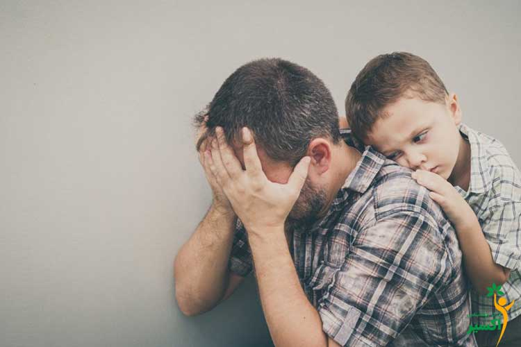 تاثیرات والدین معتاد بر فرزندان