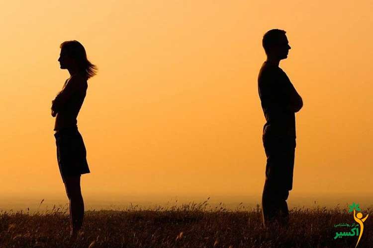 نشانه های پایان یک رابطه عاطفی