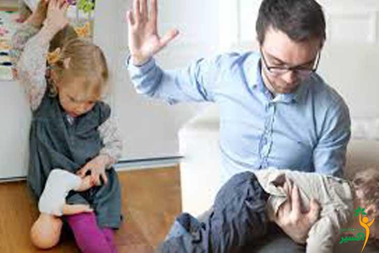روش مقابله با پرخاشگری کودک