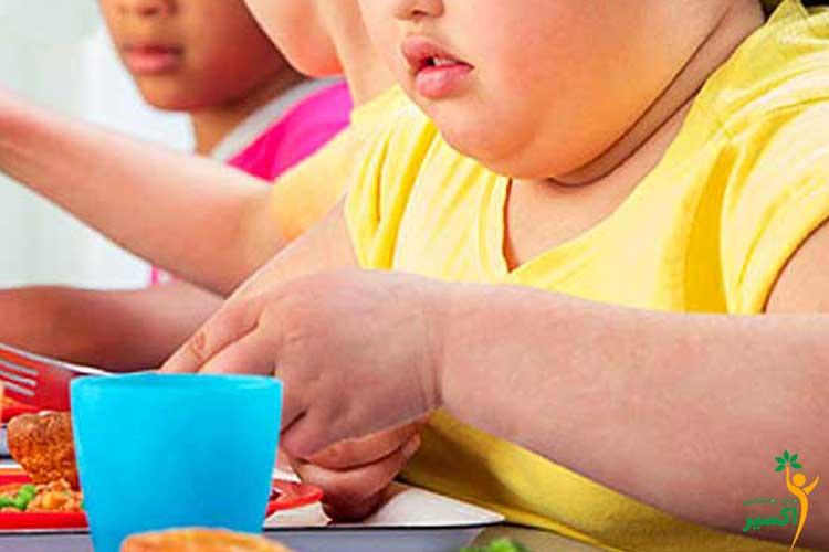 درمان چاقی در کودکان بدقلق