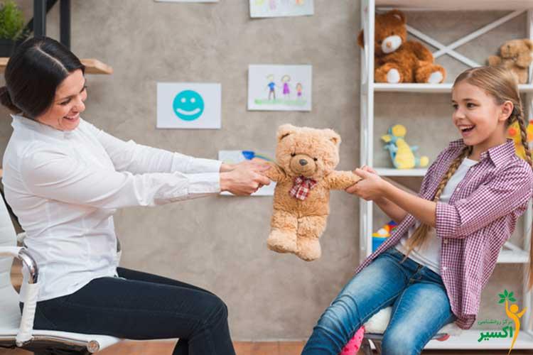 کاربرد بازی درمانی در درمان اختلالات