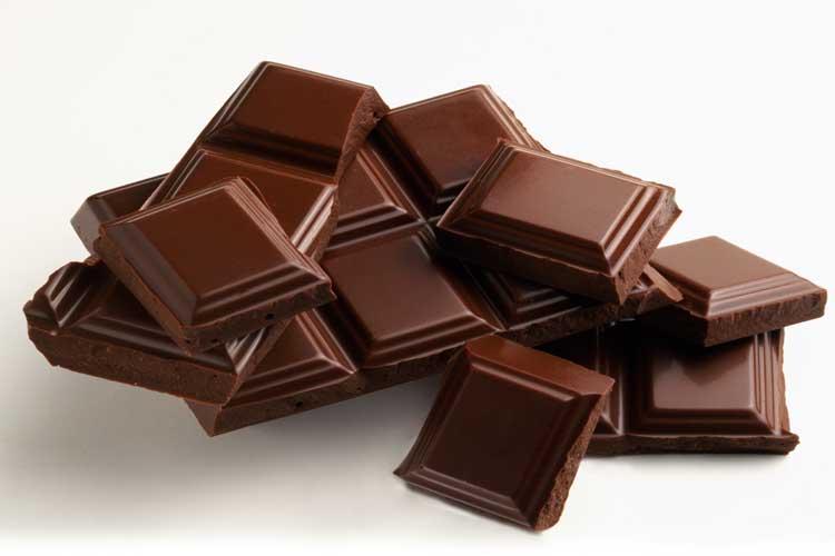 تاثیر شکلات در کاهش استرس