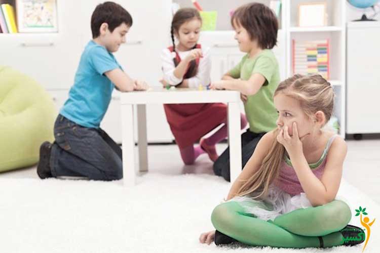 بهبود کم رویی در کودکان