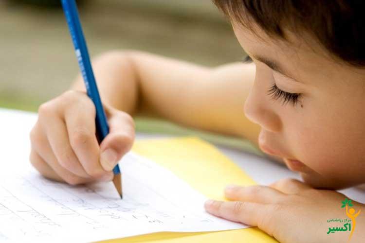تشخیص کندنویسی در کودکان