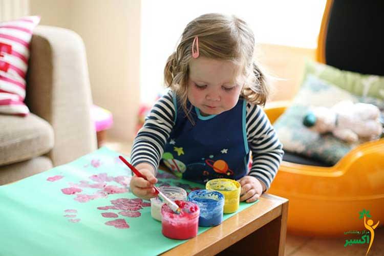 مهارت در کودکان مادران شاغل