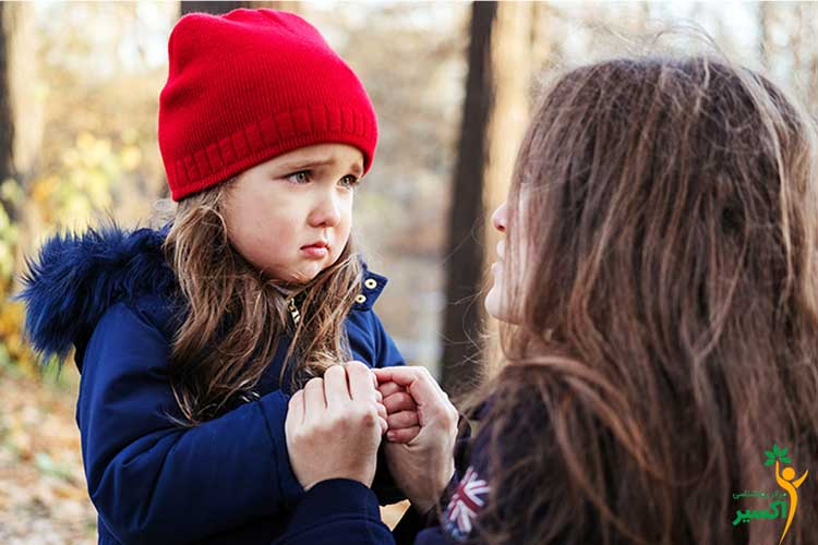 والدین کودک مضطرب