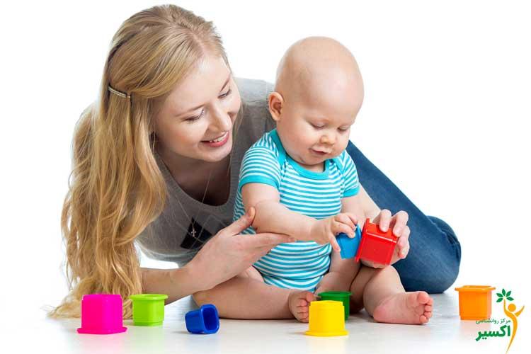 بازی با کودک یک ساله
