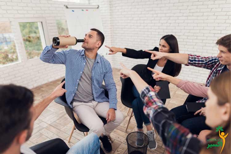 گروه خودیاری در گروه درمانی