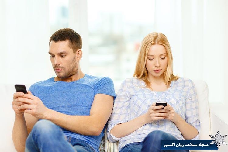 استفاده بیش از اندازه از گوشی های هوشمند