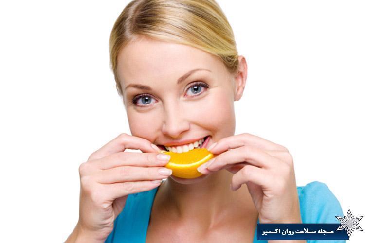 پرتقال برای بهبود غمگینی