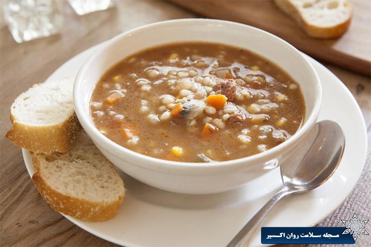 سوپ برای درمان بیماری ها