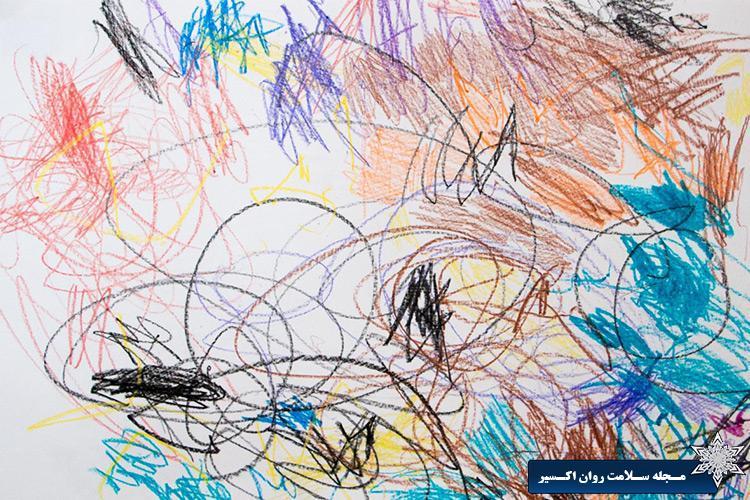 سیر تحول نقاشی کودکان