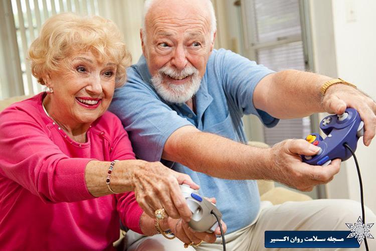 بازی های ویدئویی ممکن است باعث کاهش سرعت پیری مغز شود