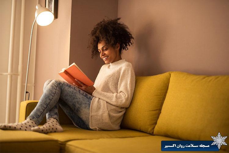 دو ساعت قبل از خواب، مطالعه