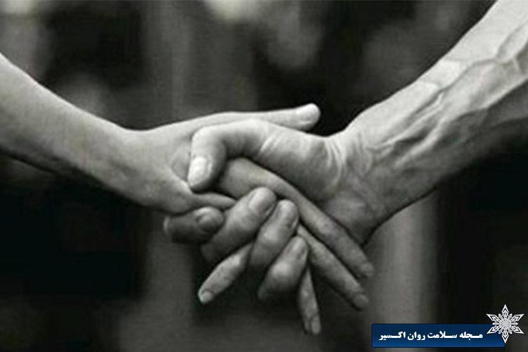 دست دادن پرزور