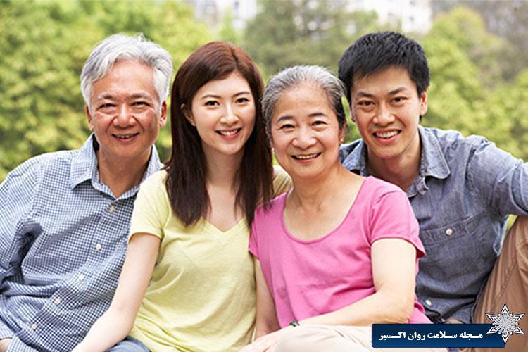 مراقبت کردن از پدر و مادر پیر