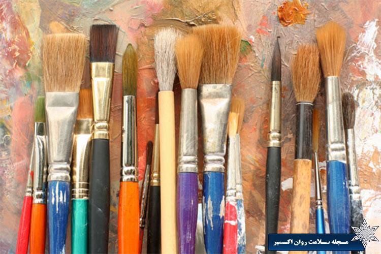 تعریف و کاربرد هنر درمانی