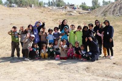 کمک رسانی مرکز روانشناسی اکسیر به زلزله کرمانشاه