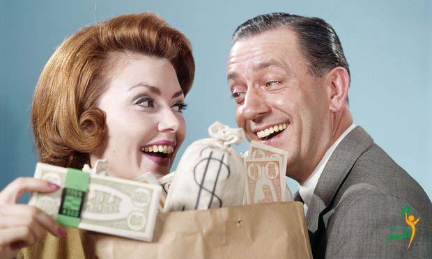 پول نمی تواند خوشبختی را بخرد
