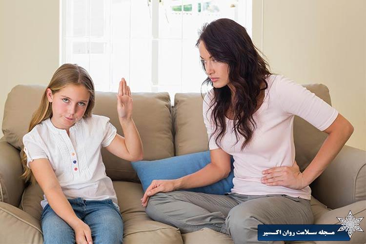 الگو پذيري کودک از والدين