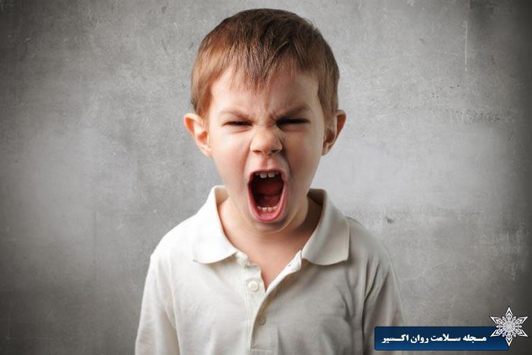 عصبانیت و پرخاشگری کودکان