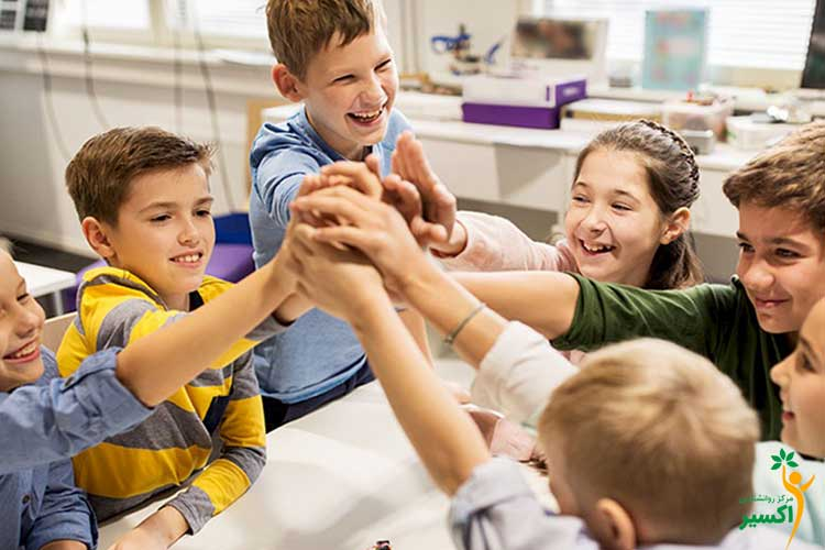 گروه درمانی کودک در اکسیر