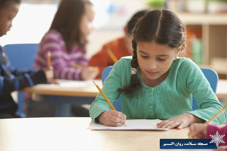 اختلال دیکته از انواع مشکلات خواندن و نوشتن