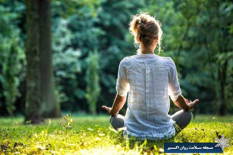 مراقبه برای کاهش استرس