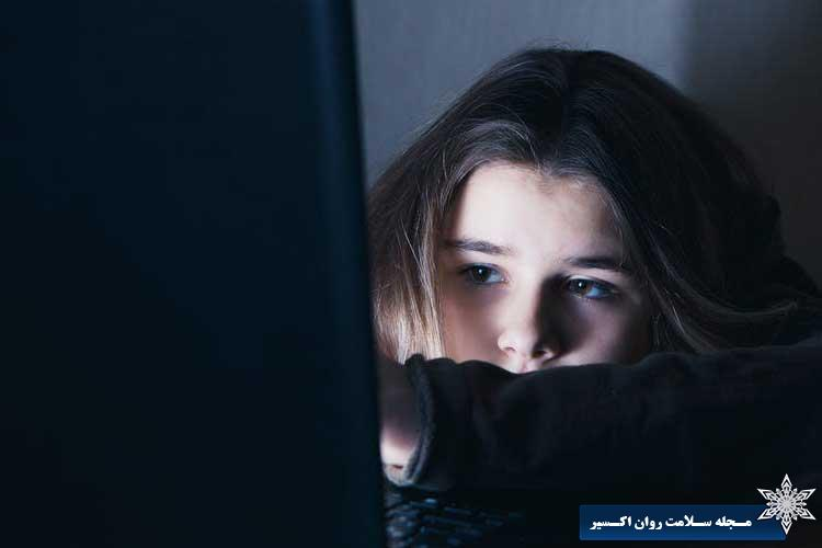 استفاده بیش از حد از اینترنت در نوجوانان