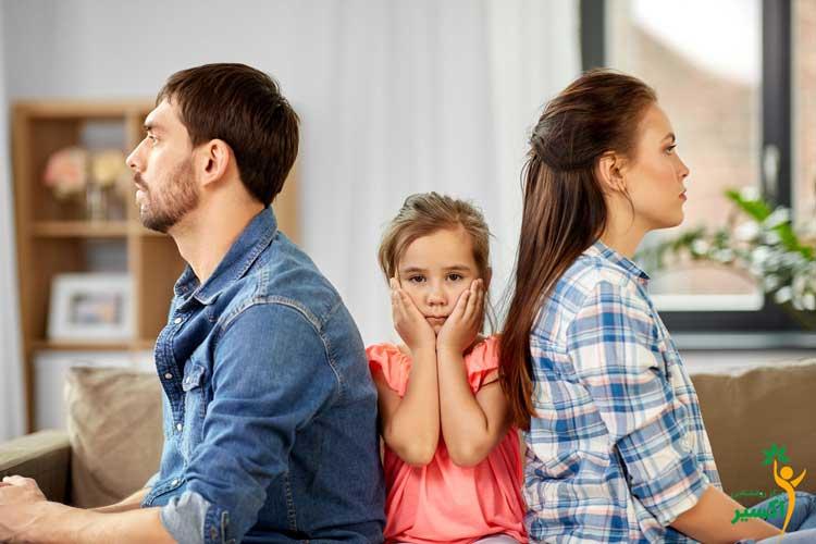 تاثیرات دعوای والدین