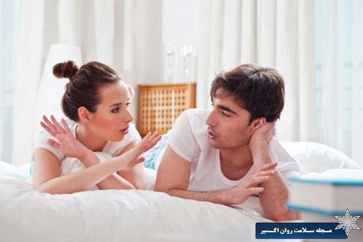 کاهش ارتباط جنسی زن و شوهر