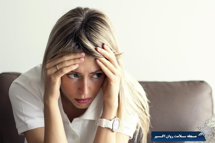 علائم اختلالات اضطرابی