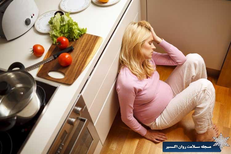 علائم افسردگی بارداری