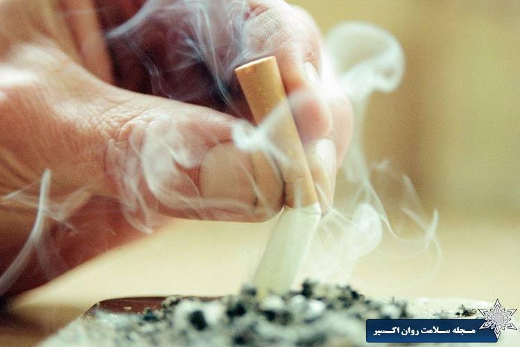 آیا برای رهایی از احساسات ناخوشایند سیگار می کشید؟