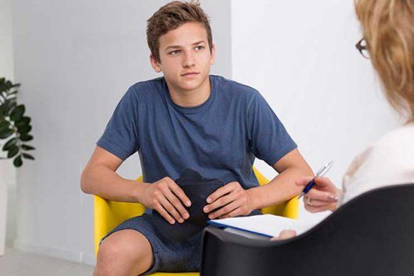 انتخاب درمانگر برای نوجوان