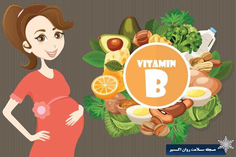 اهمیت فولات (ویتامین B9) برای زنان در سنین باروری