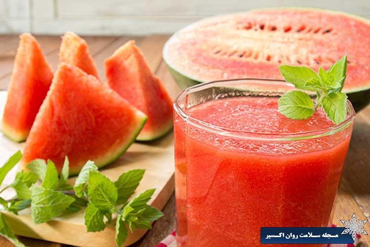 هندوانه برای کاهش وزن