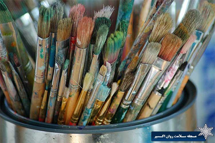 تاثیر هنر درمانی