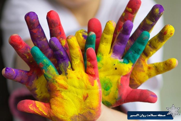 هنر درمانی در کودکان