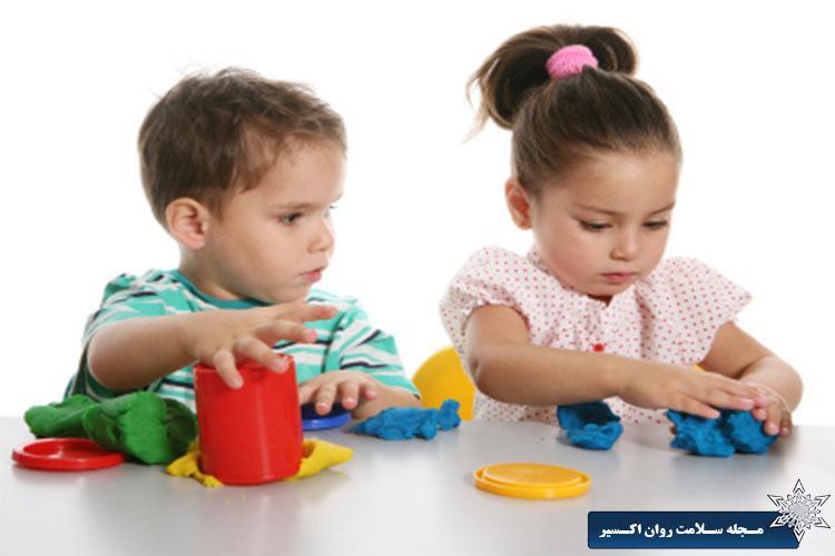 بيشترين بهره وری در بازی کردن کودکان