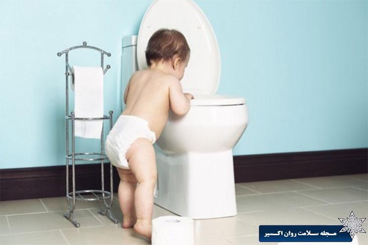 آموزش توالت رفتن به کودکان