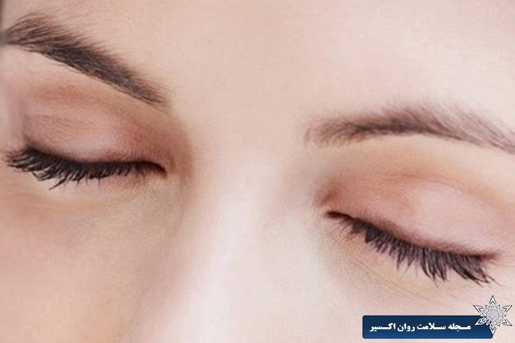 بستن چشم