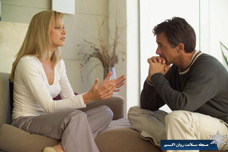 با احترام به همسرتان گوش دهید
