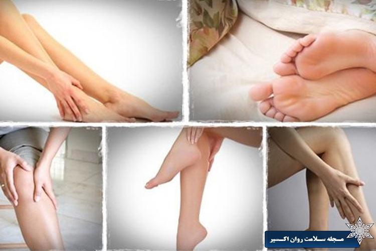 علائم و نشانه های شایع سندرم پاهای بی قرار