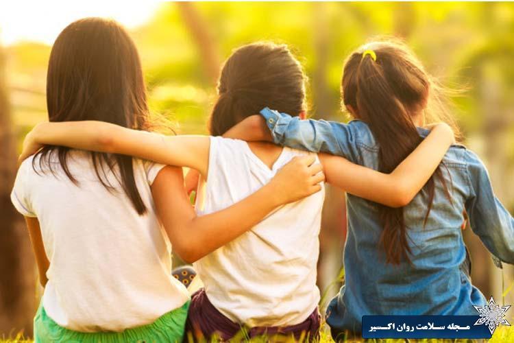 با دوستان دوست تان دوست شوید